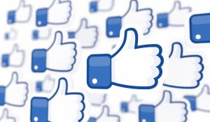 Facebook thumbs up header