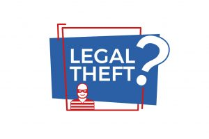 Legal Theft? graphic
