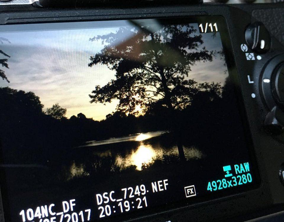 camera screen landscape Christian Fischer