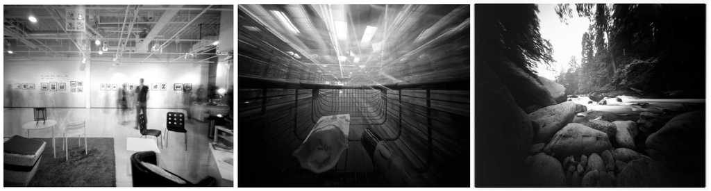 pinhole photography exhibition supermarket and landscape Moni Smith