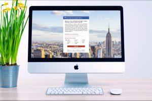 MAC COPYTRACK settlement portal on screen
