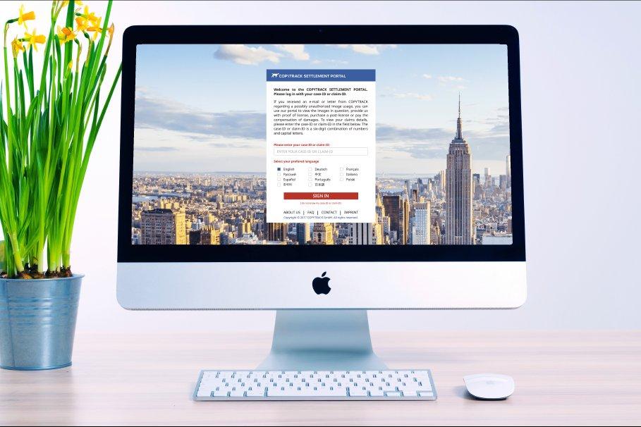 Copytrack neues Portal gegen Bilderdiebstahl