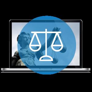Icon Bilder Rechtsdurchsetzung