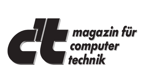 Press Logo C'T magazin fuer computer technik