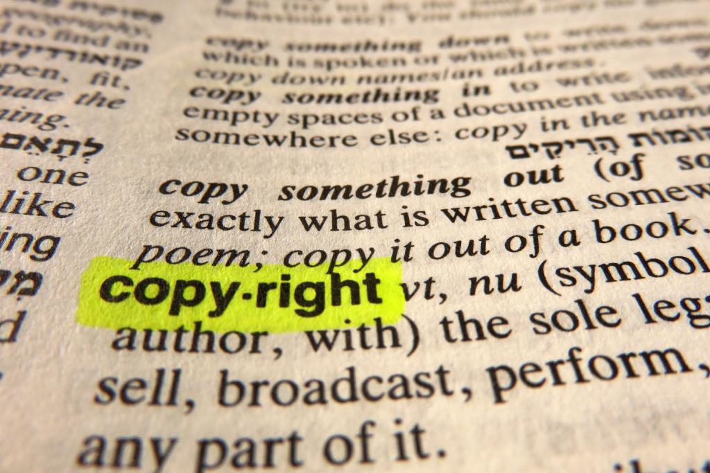 Auszug Definition Urheberrecht Copyright
