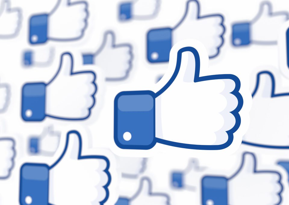 Thumbs up for Facebook
