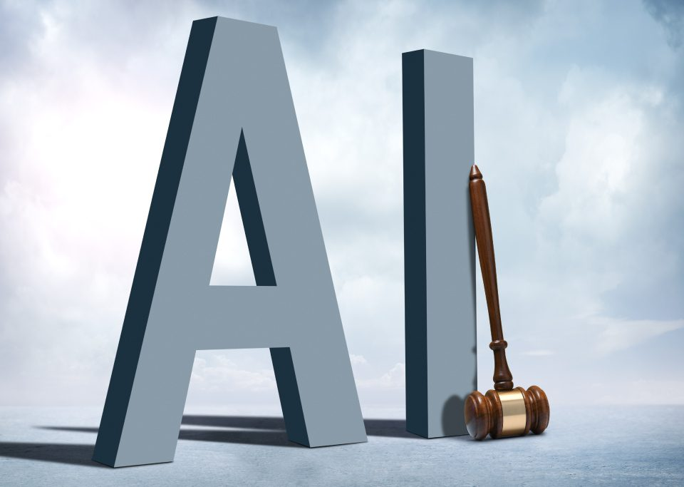 AI Letters and a judge hammer
