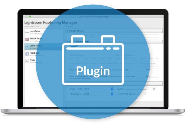 MacBook zeigt Adobe Lightroom Plugin Installation