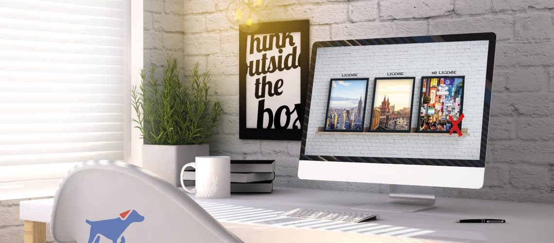 Office Mac tracky Bild ohne Lizenz