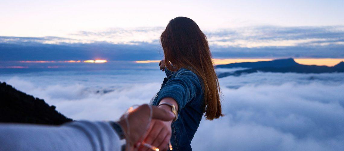 girlfriend brings you everywhere above cloud